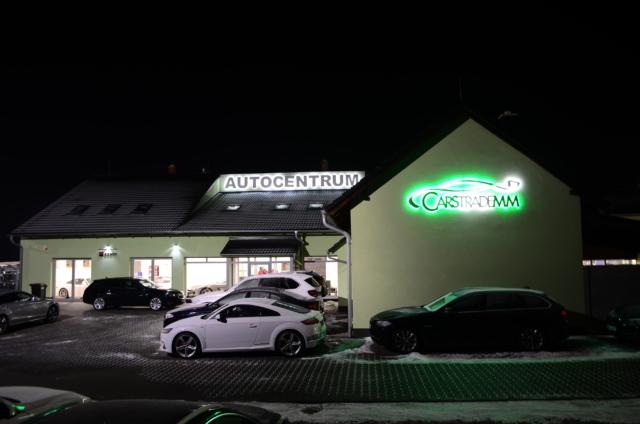 3D LED loga Cars Trade