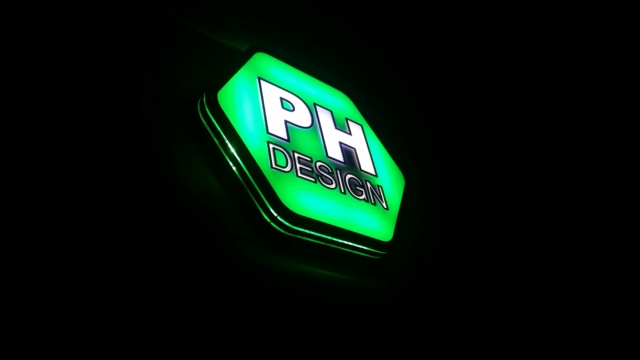 3D LED logo PH design