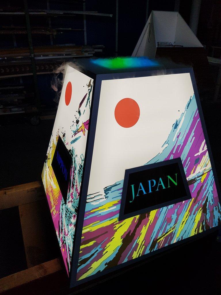 Světelná bedna JAPAN